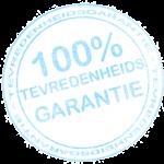 100% Tevredenheidsgarantie webdesign