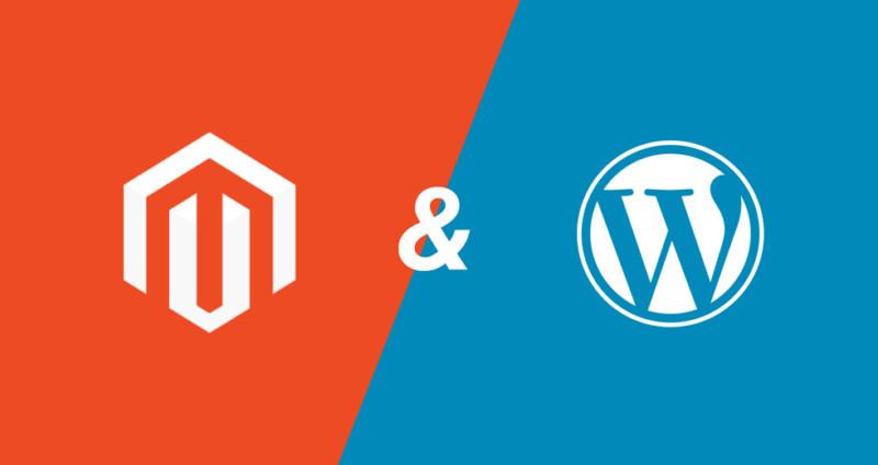 Magento en WordPress combineren