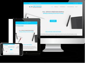 Portfolio webdesign CMS Designs