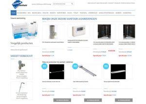 Sanitair Webshop
